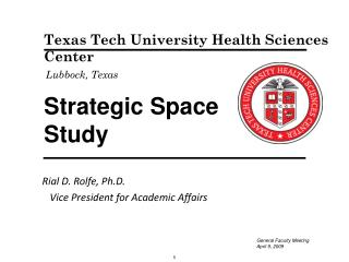 Strategic Space  Study