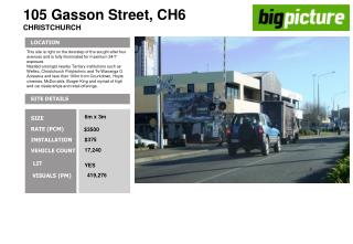 105 Gasson Street, CH6 CHRISTCHURCH