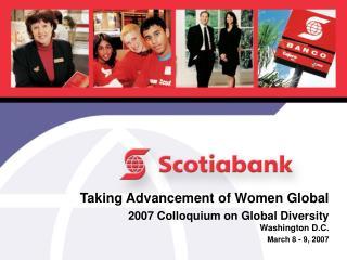Taking Advancement of Women Global