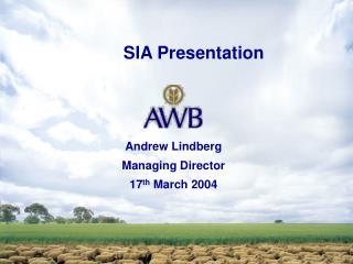 SIA Presentation