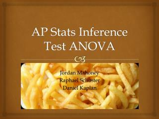 AP Stats Inference Test ANOVA