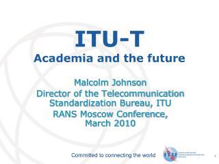 ITU-T Academia and the future