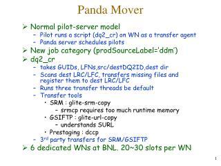 Panda Mover
