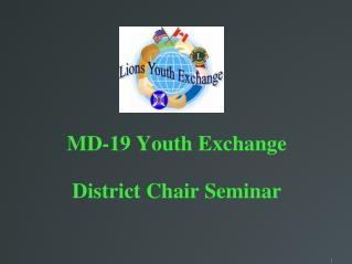 MD-19 Youth Exchange District Chair Seminar