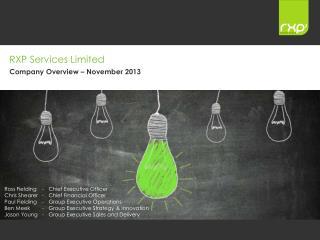 RXP Services Limited