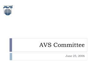 AVS Committee