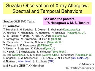 Suzaku Observation of X-ray Afterglow: Spectral and Temporal Behaviors