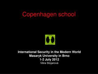 Copenhagen school