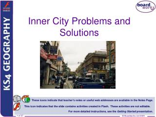 Inner City Problems and Solutions