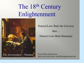 Natural Laws Rule the Universe thus… Natural Laws Rule Humanity