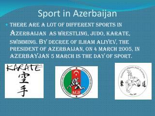 Sport in Azerbaijan
