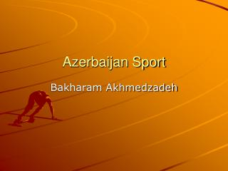 Azerbaijan Sport