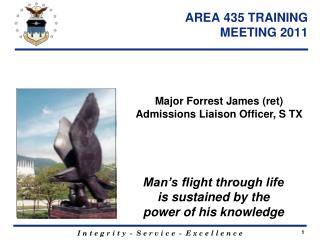 AREA 435 TRAINING  MEETING 2011