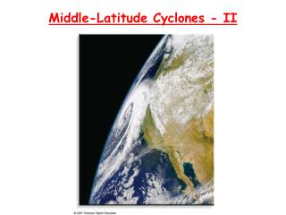 Middle-Latitude Cyclones - II