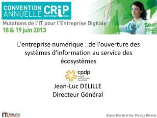 L'entreprise numérique : de l'ouverture des systèmes d'information au service des écosystèmes
