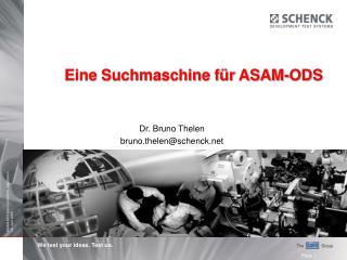 Eine Suchmaschine für ASAM-ODS