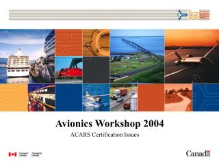Avionics Workshop 2004