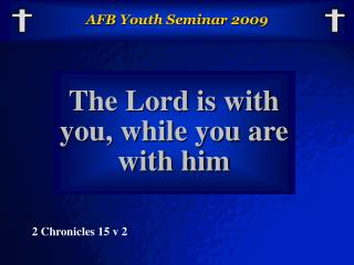 AFB Youth Seminar 2009