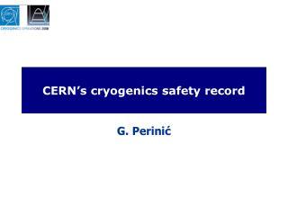 CERN's cryogenics safety record