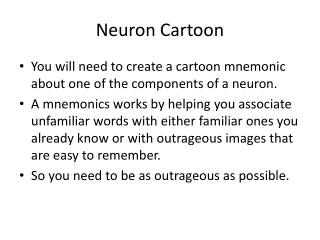 Neuron Cartoon