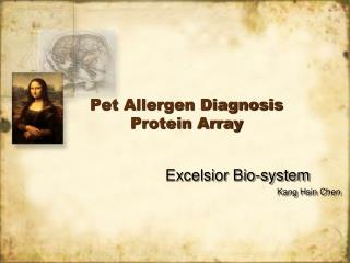 Pet Allergen Diagnosis Protein Array