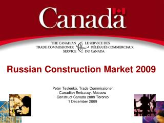 Russian Construction Market 2009