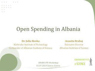 Open Spending in Albania