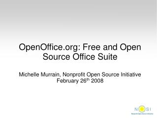 OpenOffice: Free and Open Source Office Suite