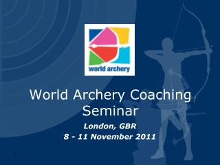 London, GBR 8 - 11 November 2011