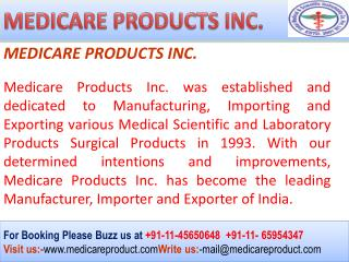 Orthopaedic Implants and Instruments Manufacturers