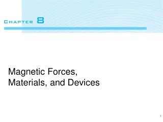 Magnetic Forces, Materials, and Devices