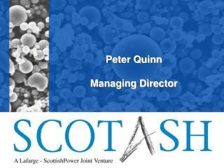 Peter Quinn Managing Director