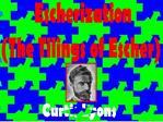 Escherization The Tilings of Escher