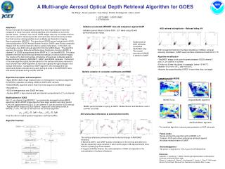 A Multi-angle Aerosol Optical Depth Retrieval Algorithm for GOES