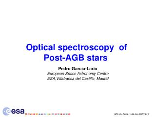 Optical spectroscopy  of  Post-AGB stars