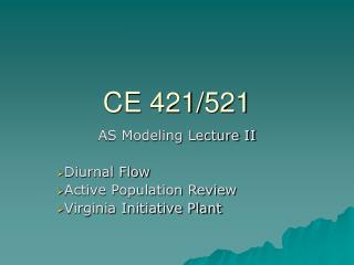 CE 421/521