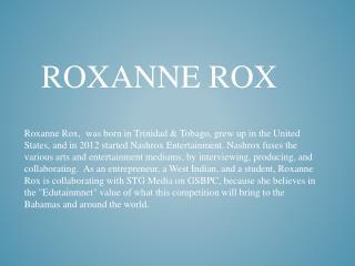 Roxanne  Rox