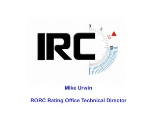Mike Urwin RORC Rating Office Technical Director