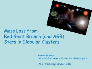 Mass Loss from  Red Giant Branch (and AGB) Stars in Globular Clusters