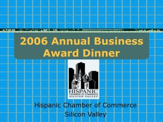 2006 Annual Business Award Dinner