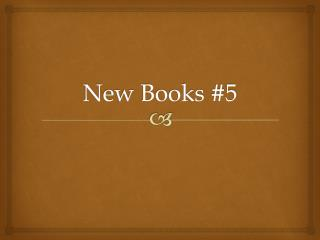 New Books #5