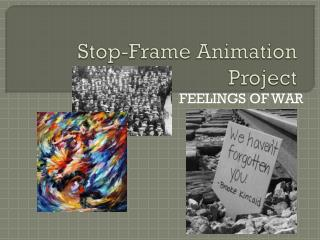 Stop-Frame Animation Project