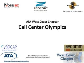 ATA West Coast Chapter Call Center Olympics