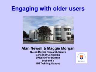 Engaging with older users