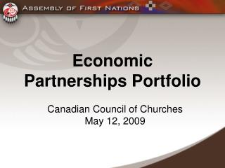 Economic Partnerships Portfolio