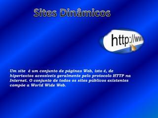 Sites Dinâmicos