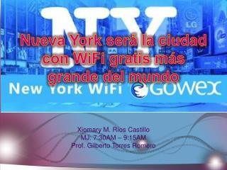 Nueva York será la ciudad con WiFi gratis más grande del mundo