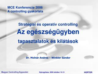 Dr. Molnár Andrea – Winkler Sándor