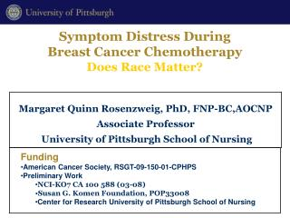Symptom Distress During  Breast Cancer Chemotherapy Does Race Matter?