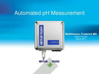 Automated pH Measurement